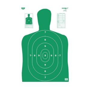 Birchwood Casey Eze-Scorer Green Silhouette Paper Target Firearm Accessories
