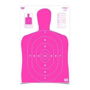 "Birchwood Casey Eze-Scorer 23"" x 35"" BC-27 Pink Paper Target"