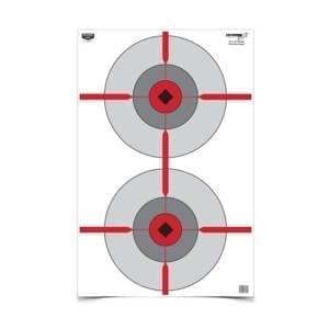 Birchwood Casey Eze-Scorer Double Bull's-Eye Paper Target Firearm Accessories