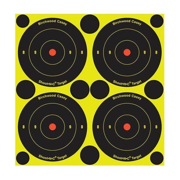 Shoot•N•C® 3″ Bull's-eye Targe Firearm Accessories