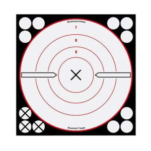 Shoot•N•C® 8″ White/Black X-Bu Firearm Accessories