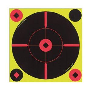 Birchwood Casey Shoot-N-C Self-Adhesive Targets Round X-Target 50 Pack Firearm Accessories
