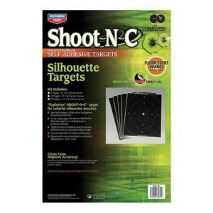 Birchwood Casey Shoot-N-C Silhouette 12″x18″ 5 Pack Firearm Accessories
