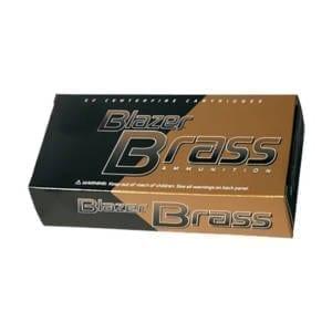 Blazer Brass 9mm Luger 124 Grain FMJ Rounds