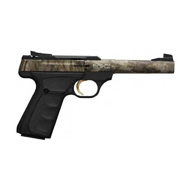 Browning Buckmark Camper .22 LR Mossy Oak Bottomlands 5.5″ Barrel Firearms
