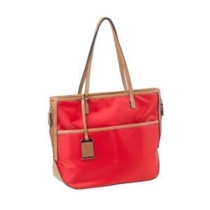 Bulldog Tote Style Purse w/Holster, Bright Red