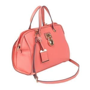 Bulldog Cases Satchel Style Purse, Coral Accessories