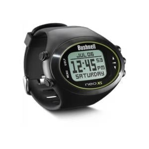 Bushnell NEO XS Golf GPS Rangefinder Watch, Black Golfing