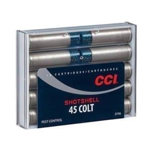 CCI Ammunition .45 Colt 150GR Size #9 Shotshell Pest Control Rounds .45 Colt