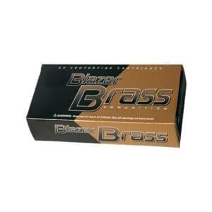 CCI Blazer Brass .40S&W 180GR FMJ Rounds .40 Smith & Wesson