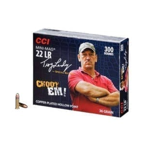 CCI Mini-Mag 22LR 36GR Hollow Point Rounds Swamp People Special Edition .22 LR