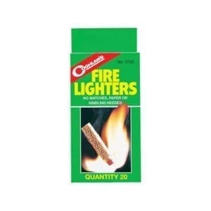 Coghlan's Fire Lighters 20 Pack Camping Essentials