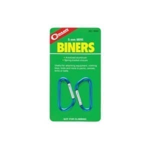 Coghlan's Mini-Biners Caribiners 2 Pack Accessories