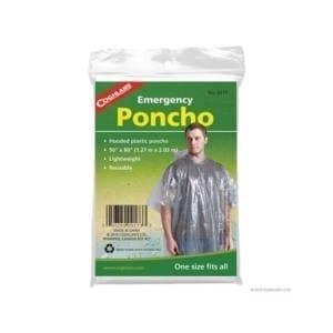 Coghlan's Emergency Poncho Camping Essentials