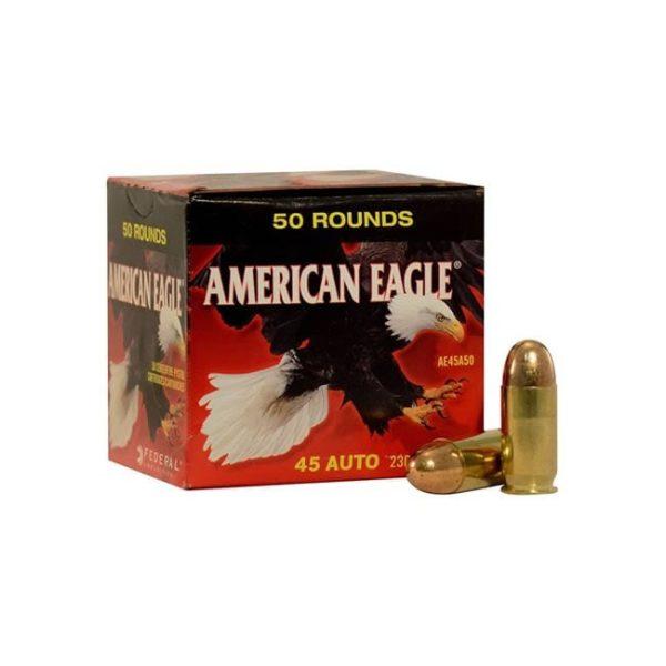 American Eagle Handgun Ammunition .45 ACP