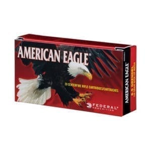 Federal American Eagle 6.5 Creedmoor 140 Grain Open Tip Match Rounds 6.5 Creedmoor