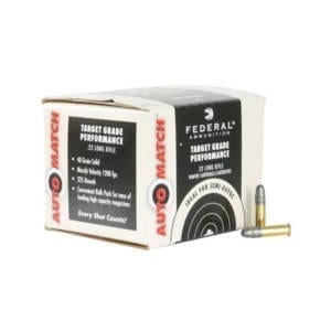 Federal Ammunition Automatch 22LR 40 Grain Rounds Ammunition