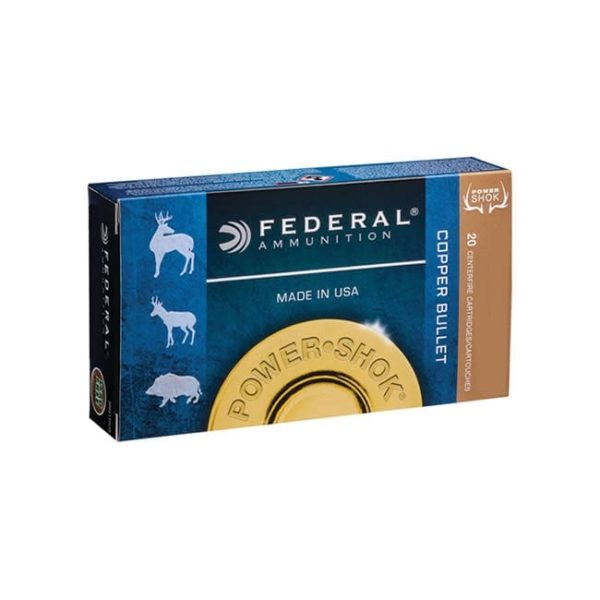 Federal Power-Shok .300 AAC Blackout Ammo Box .300 AAC