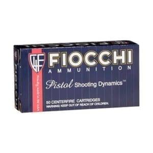 Fiocchi Pistol Shooting Dynamics .38 Super 129 Grain FMJ (Single Box) .38 Super Auto +P