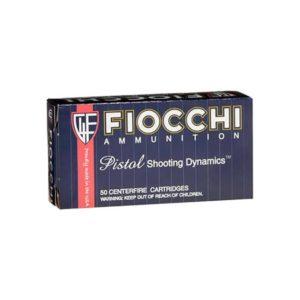 Fiocchi Shooting Dynamics .380 ACP FMJ (Single Box) .380 ACP