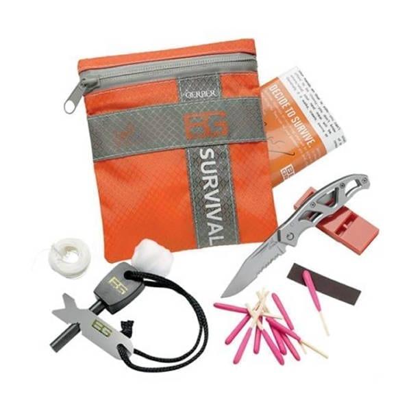 Gerber Bear Grylls Basic Survival Kit Camping Gear
