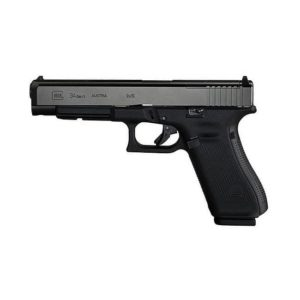 "Glock G34 M.O.S Gen 5 9MM 5.3"" Black 17 Rds"