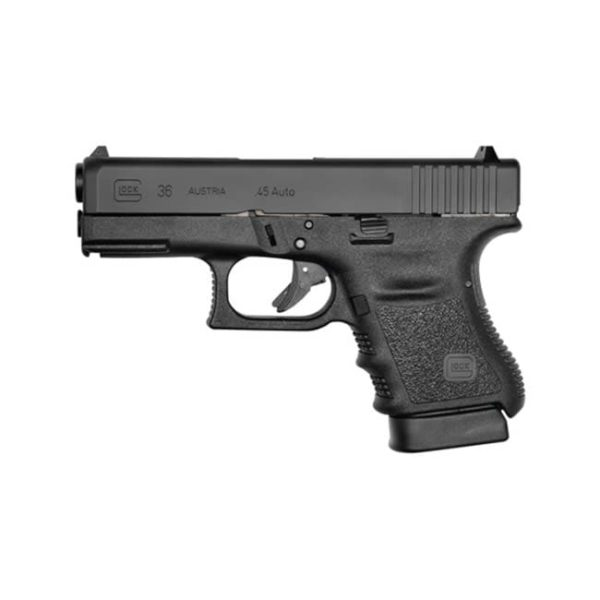 Glock G36 Subcompact Double .45 ACP 3.7″ 6+1 Black Firearms
