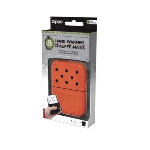 Zippo Hand Warmer 12 Hour – High Blaze Orange Camping Essentials