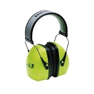 Howard Leight Leightning L3 Hi-Visibility Earmuff Bright Green Eye & Ear Protection