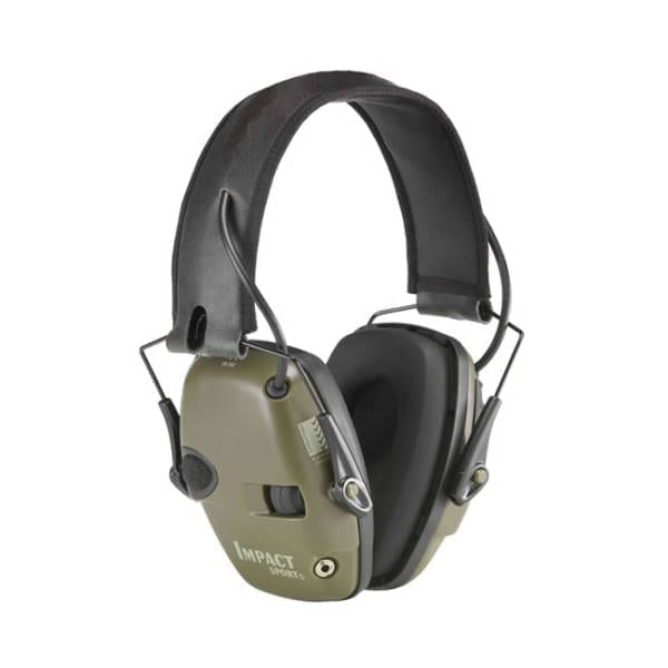 HWL Impact Sport Electric Muff Eye & Ear Protection