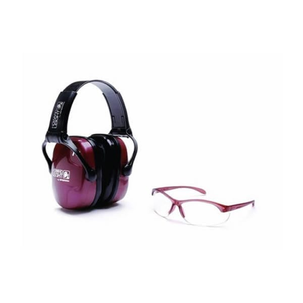 RAD Pro AMP Pink NRR Eye & Ear Protection