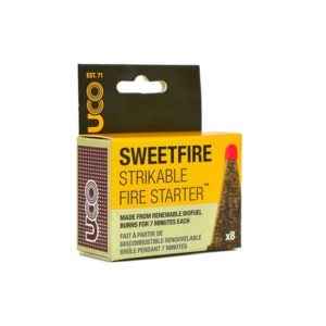 UCO Sweetfire Strikable Fire Starters Camping Essentials