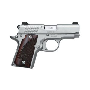 KimberMicro 9 Stainless 9mm Luger with Rosewood Grips Firearms