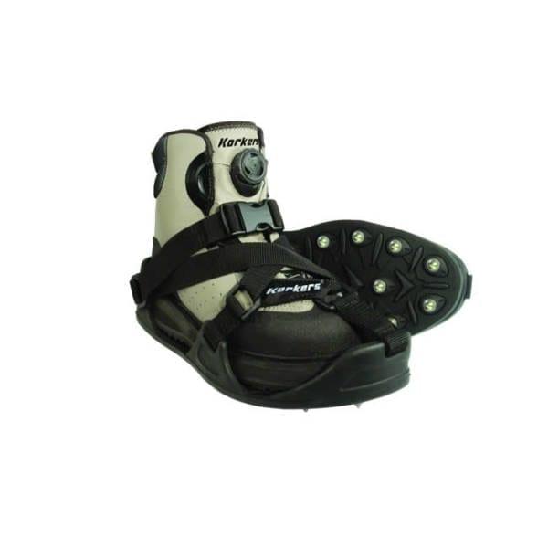 Korkers CastTrax Cleated Overshoe, Large Footwear