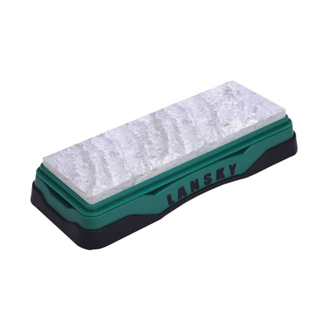 Lansky Soft Arkansas Bench Sharpening Stone Camping Gear
