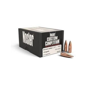 Nosler Custom Competition Hollow Point 6.8mm, Box 6.8MM
