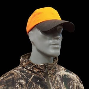Outdoor – 6 Panel Blaze Cap w/Brown Visor Caps & Hats