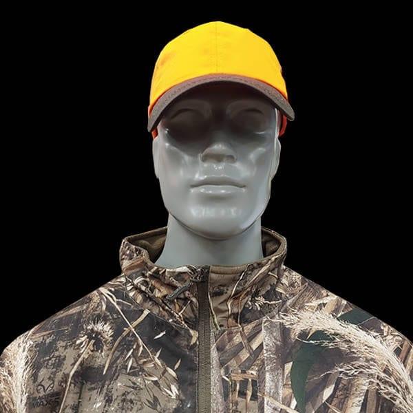 Outdoor – 6 Panel Blaze Cap w/Brown Visor Caps & Hats