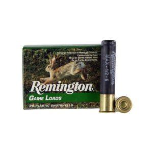 Remington .410 Gauge 2.5″ Game Loads 6 Shot 20 Round Shot Shells .410 Bore