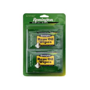 Remington Cleaning Oil Wipes 12 Pack Gun Cleaning & Supplies