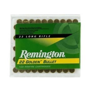 Remington Gold Series .22LR 40GR Rounds