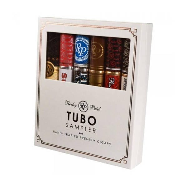 Rocky Patel Tubo 6 Cigar Sampler Gift Set Cigars