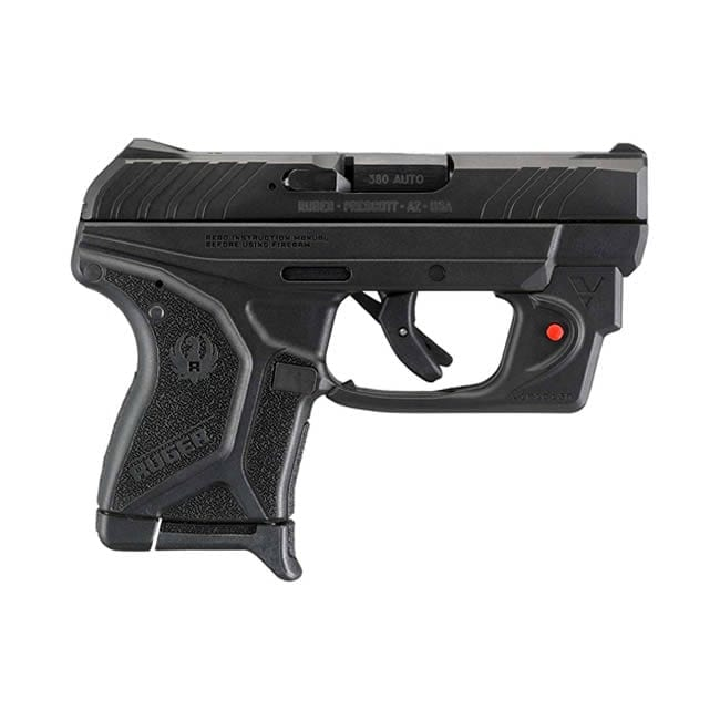 Ruger LCP-VL .380 ACP w/Viridian Laser Firearms