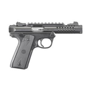 Ruger Mark IV 22/45 Lite .22 LR Handgun Firearms