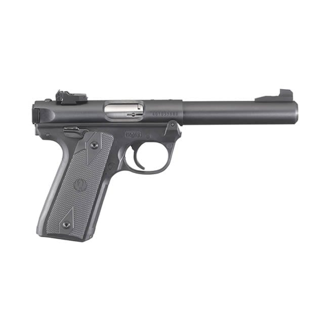 Ruger Mark IV 22/45 Single .22 LR 5.5″ Handgun Firearms