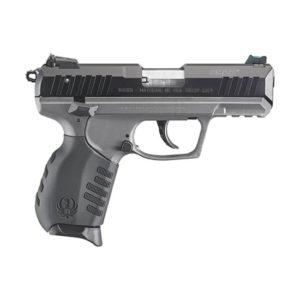 RugerSR22 .22 LR with Tungsten Cerakote Grip