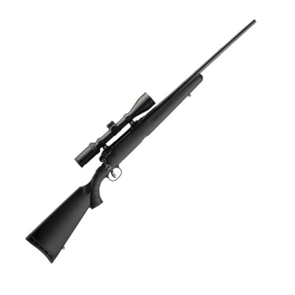 Savage Arms Axis II XP – Matte Black Stock .243 Win – 22″ Barrel with Scope Bolt Action