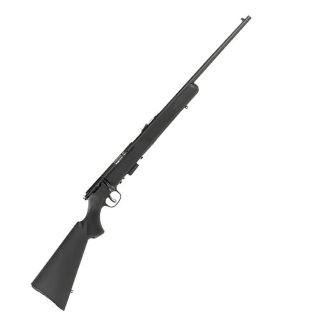 Savage 93 F Bolt .22 WMR 21″ 5+1 Synthetic Black Stock Blued Firearms