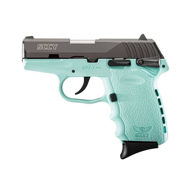 SCCY Industries CPX-1 9MM Robin Egg Blue Firearms