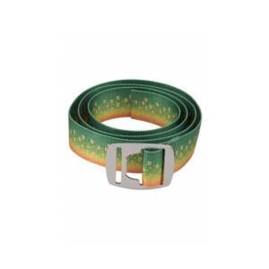 Simms Fish Skin Pattern Belt with Bottle Opener Accessories